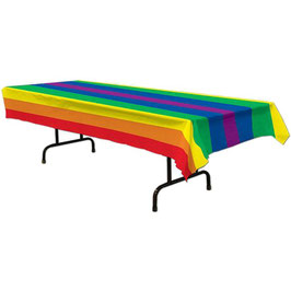 Regenbogen Tischtuch 137 x 274 cm
