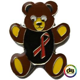 Aids-Bären Anstecker aus Metall