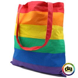 Regenbogen Stofftasche