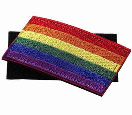 Rainbow Klett / Velcro Patch 8 x 5 cm