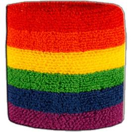 Regenbogen Schweißband (Discount)