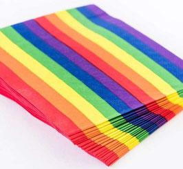 Rainbow Servietten 20 Stk.