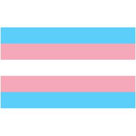 Leicht Wetterfeste Transsexuellen Fahne 90 x 150 cm