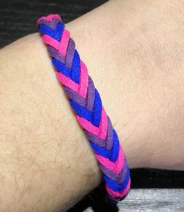 Leder-Armband für Bisexuelle