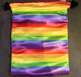 Regenbogen Beutel 18 x 23.5 cm