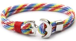 Rainbow Anker Armband