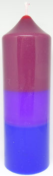 Bisexuellen Kerze rund 15 cm