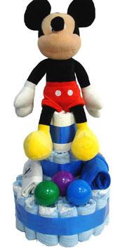 Tarta de pañales Mickey
