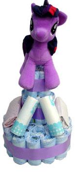 Tarta de pañales My Little Pony