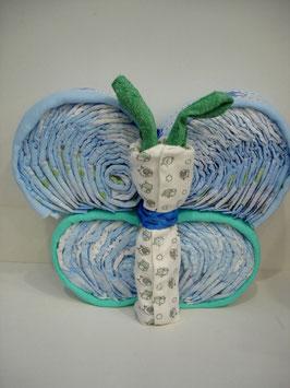 Mariposa con pañales