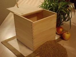 Zirbenholz Getreidespeicher mit Schiebedeckel