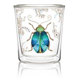 Teeglas Scarabäus, doppelwandig