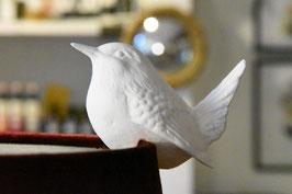 Zaunkönig, Bone China Porzellan