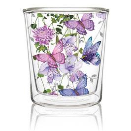 Teeglas Butterfly, doppelwandig