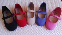 Ref: 64ZAI Zapatillas Pique Con Velcro Tallas: 18-30