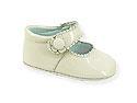 49BE Zapato Bebe Con Cierre Velcro Boton Tallas: 16-19