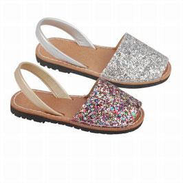 65SA Sandalia Ibicenca Glitter Tallas: 28-35