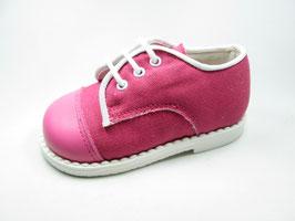 108ZA Zapato Cordón Con Punta Piel Tallas:20-27