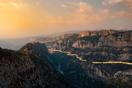 "Foto-Print ""Verdon on fire"""