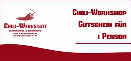 Gutschein für Hot-Sauces-Workshop