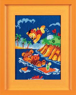Zwemmende beren