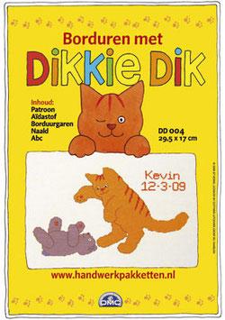 Dikkie Dik met beer