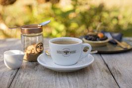 Kleine Kaffeepause in der Brasserie
