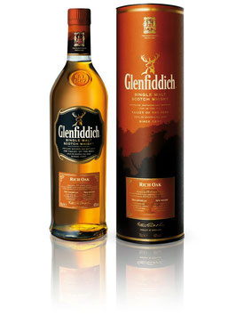 GLENFIDDICH 14 Years Old Rich Oak - 0,7L , 40% Vol.