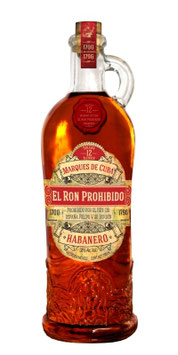 Ron Prohibido Reserva - 40% Vol., 700ml