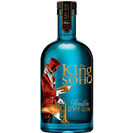 King of Soho London Dry Gin 0.7l / 42%