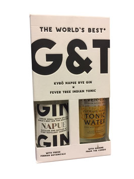 Kyrö World´s Best Gin+Tonic (Geschenkset) - 0,1L, 46,3% Vol