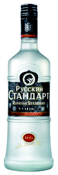 Russian Standard Vodka - 40 % Alc Vol., 1000ml