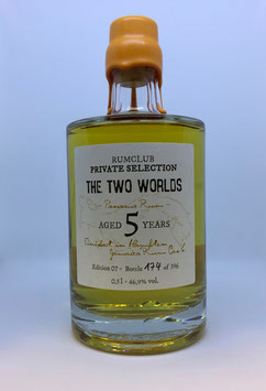 Rumclub Private Selection Ed. 7 The Two Worlds - 0,5L, 46,9 % Vol.