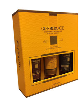 Glenmorangie Pioneering Collection - 3 x 0,35L, 40-46% Vol.