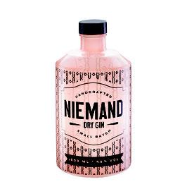 NIEMAND Dry Gin Flasche - 500ml., 46% Alc. Vol.