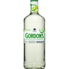 Gordon´s Crisp Cucumber, Distilled flavoured Gin 0,7l / 37,5%
