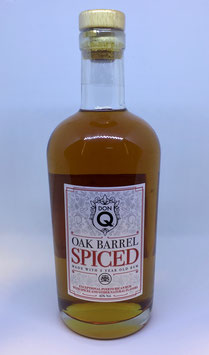 Don Q Oak Barrel Spiced - 0,7l, 45% Vol.