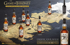 Game of Thrones – Das komplette Whisky Set – 8x 70cl (5,6l), 40-51,2% Vol.