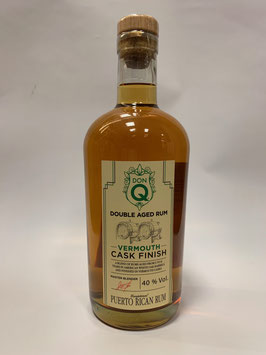 Don Q Double Aged Vermouth Cask Finish Rum - 0,7l, 40% Vol.