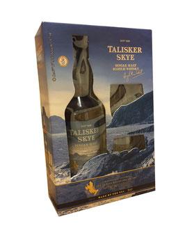 Talisker Sky - 0,7L, 45,8% Vol. (Geschenk-Set + 2 Gläser)
