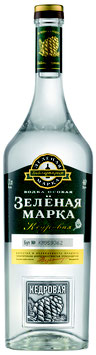 Green Mark Natural Cedar Nut Flavor Vodka - 40 % Alc Vol., 1000ml