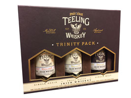 Teeling Trinity Pack Mini´s - 3 x 0,05L, 46% Vol.