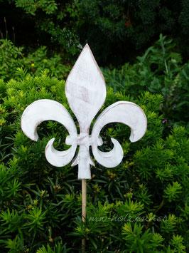 Französische Lilie- Fleur-de-Lis  als Gartenstecker