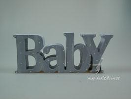 Schriftzug aus Holz - Baby