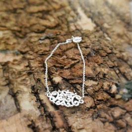 Silberarmkette Amulett