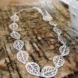 Halskette Blätter