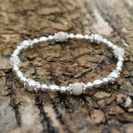 Silberarmkette Riverstone