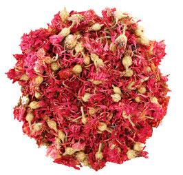 Kornblumenblüten rot (getrocknet)