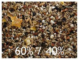 Körnermischung 60% Mehl- und 40% Ölsaaten