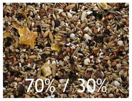Körnermischung 70% Mehl- und 30% Ölsaaten